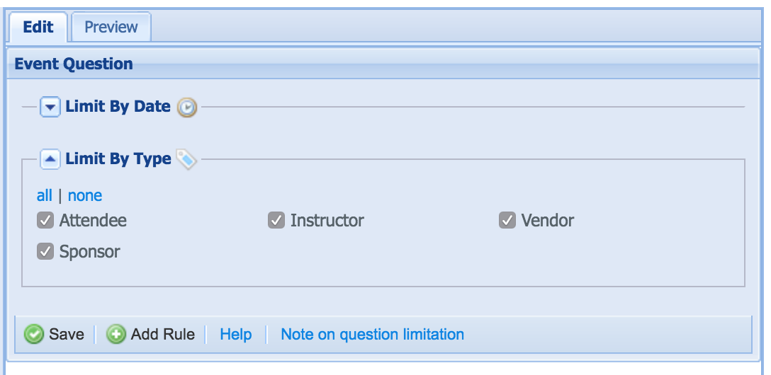 Select all or none when limiting by member type in form builder.