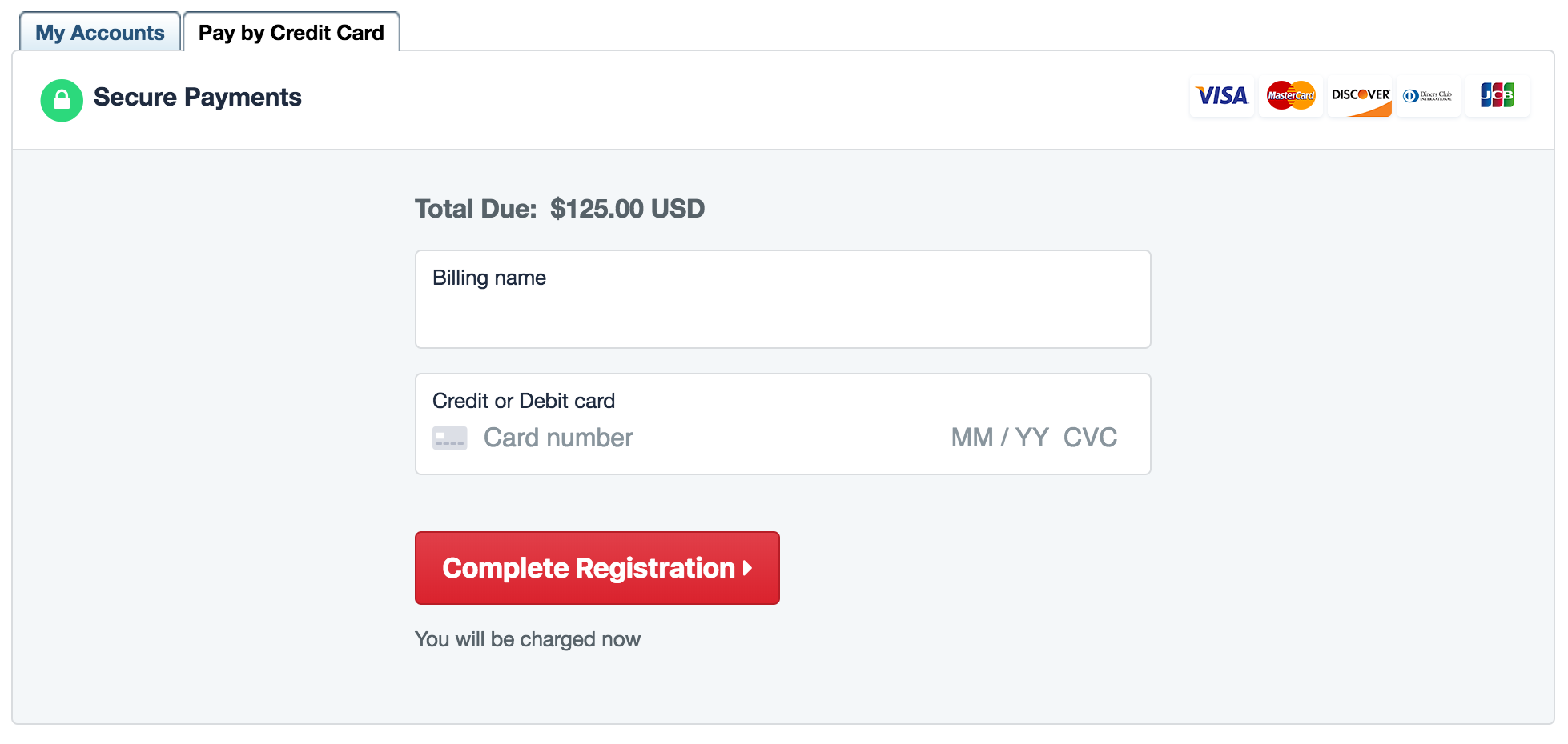 Payment forms are now more secure