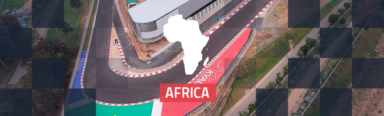 Africa Race Tracks