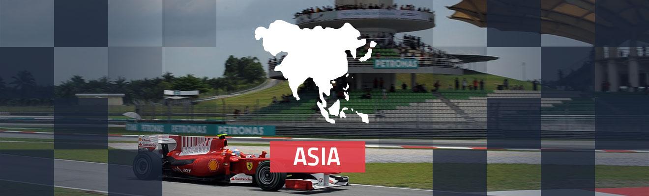 Asia Race Tracks