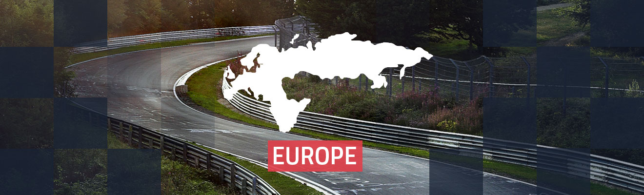 Europe Race Tracks