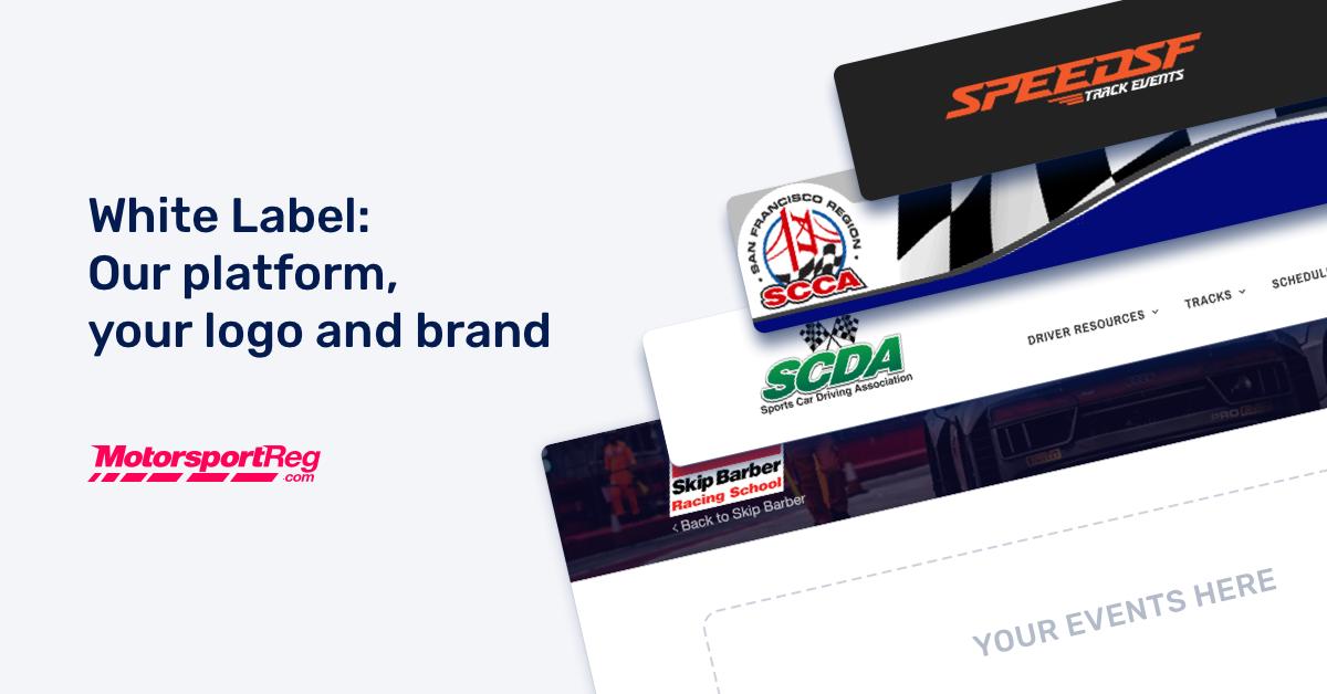 white label motorsport membership, licensing and event registration software